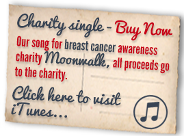 Our song for breast cancer awareness charity Moonwalk, all proceeds go to the charity. Click here to visit iTunes...